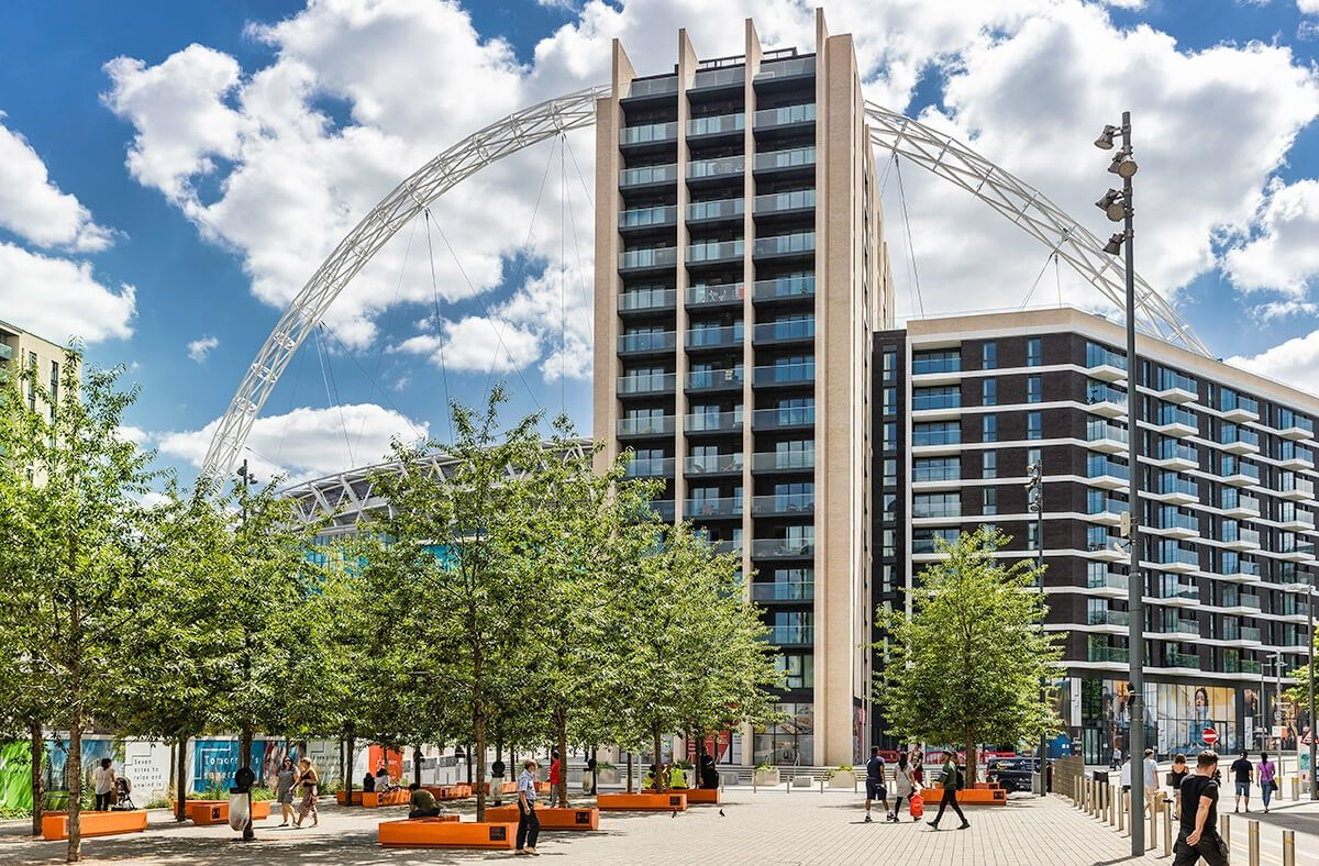 1bed flat Apartments Wembley Park with Quintain Living